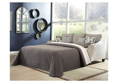 Abney Gray Sofa Chaise Sleeper