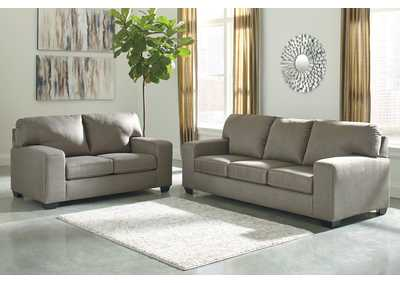 Kanosh Cobblestone Sofa and Loveseat