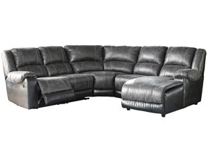 Nantahala Slate Right Facing Corner Chaise Sectional