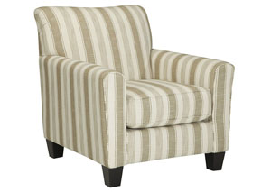 Laryn Khaki Accent Chair