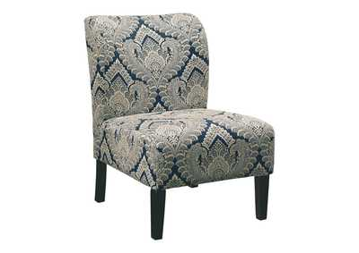 Image for Honnally Blue Accent Chair