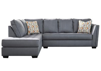 Filone Steel RAF Sofa Chaise