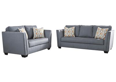 Filone Steel Sofa & Loveseat