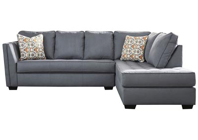 Filone Steel LAF Sofa Chaise