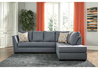 Filone Steel LAF Sofa Chaise,Signature Design By Ashley