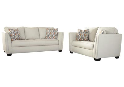 Image for Filone Ivory Sofa & Loveseat