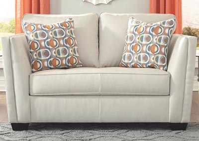 Image for Filone Ivory Loveseat