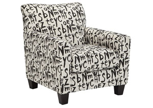Brindon Raven Accent Chair