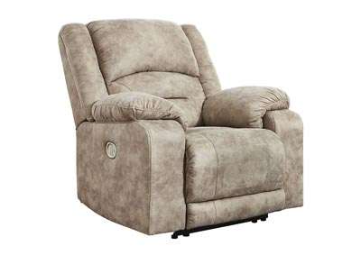 McGinty Graystone Power Recliner w/Adjustable Headrest
