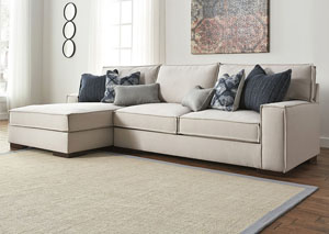 Kendleton Quartz Left Facing Corner Chaise Sectional