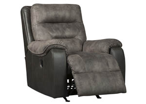 Hacklesbury Brownstone Power Rocker Recliner