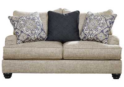 Reardon Gray Loveseat