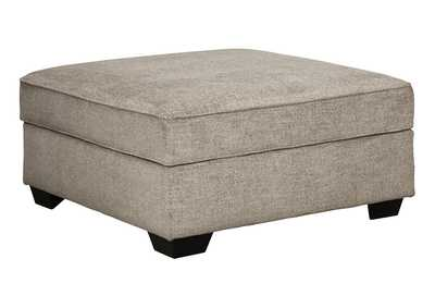 Image for Bovarian Stone Ottoman w/Storage