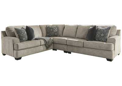 Bovarian Stone Left-Arm Facing Sectional