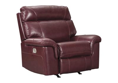 Power Recliner w/Adjustable Headrest