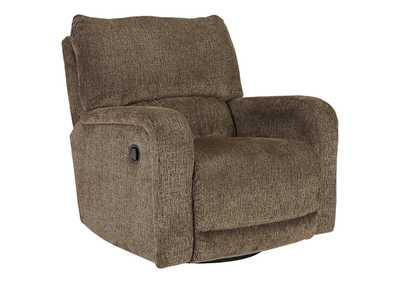 Wittlich Umber Swivel Glider Recliner