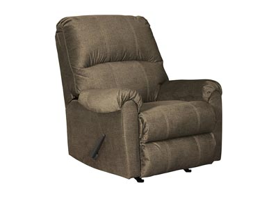 Urbino Mocha Rocker Recliner,Signature Design By Ashley