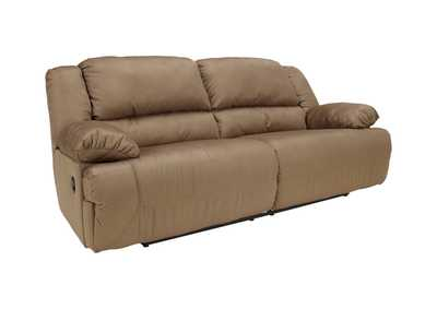 Hogan Mocha Reclining Two-Seat Sofa