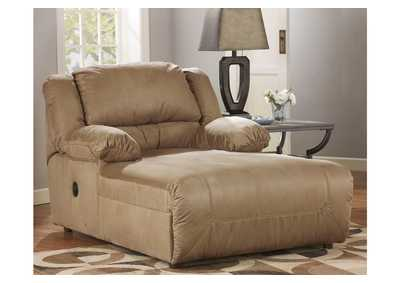 Hogan Mocha Pressback Chaise,Signature Design By Ashley