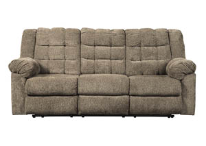 Workhorse Cocoa Reclining Sofa