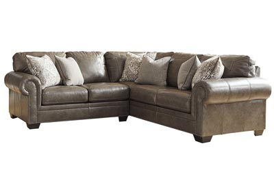Roleson Gray 2 Piece Sectional