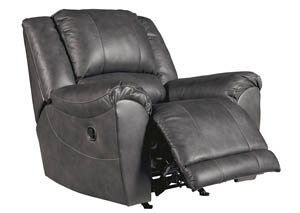 Persiphone Charcoal Rocker Recliner