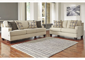 Brielyn Linen Sofa and Loveseat