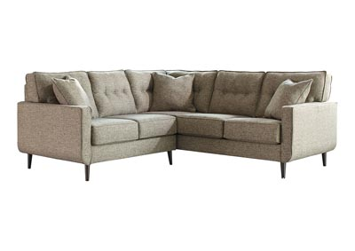 Dahra Jute Right Facing Sofa Sectional