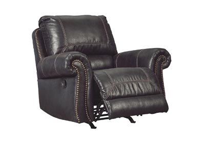Milhaven Black Rocker Recliner