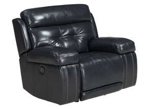 Graford Navy Power Recliner