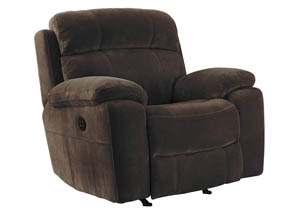 Uhland Chocolate Power Recliner