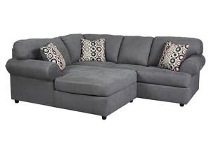 Jayceon Steel LAF Chaise Sectional,Signature Design By Ashley