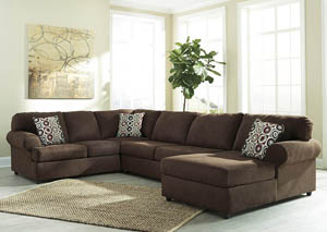 Jayceon Java Extended Right Facing Chaise End Sectional