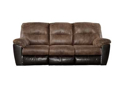 Image for Follett Coffee Reclining Sofa