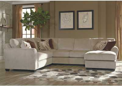 Hazes Fleece Right Facing Chaise End Sectional