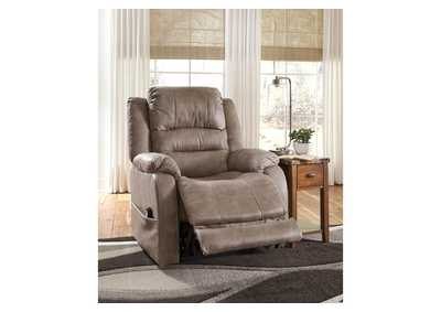 Image for Barling Mushroom Power Recliner w/Adjustable Headrest