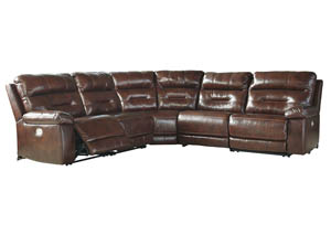 Bancker Sienna Left Facing Zero Wall Power Reclining Sectional
