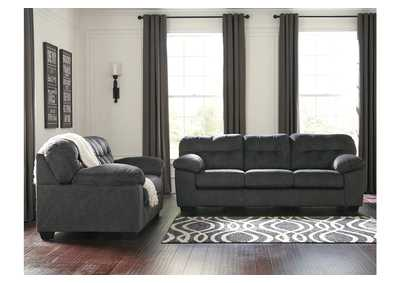 Accrington Granite Sofa and Loveseat,Signature Design By Ashley