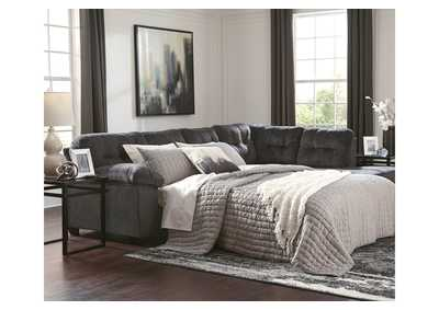 Accrington Granite RAF Chaise Sleeper Sectional