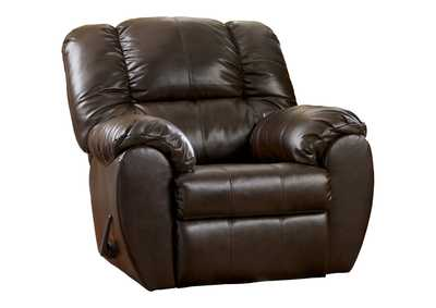 Image for Dylan DuraBlend Espresso Rocker Recliner