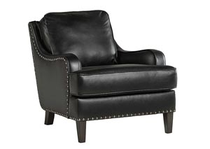 Laylanne Black Accent Chair ?>