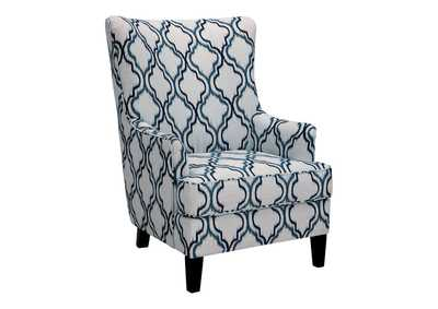 Image for LaVernia Navy Accent Chair