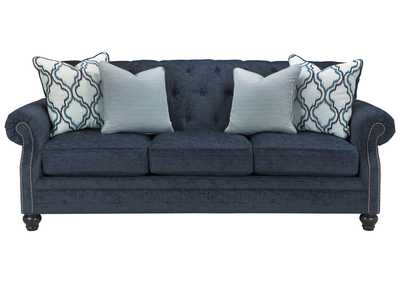 Image for LaVernia Navy Sofa