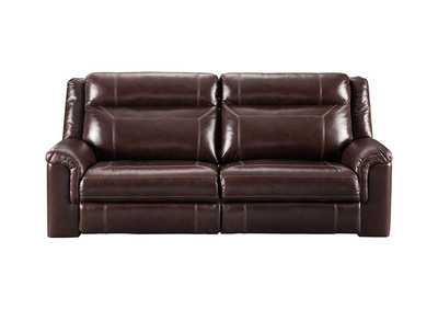 Image for Wyline Coffee Power Reclining Sofa w/Adjustable Headrest