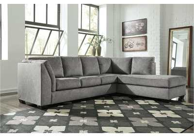 Belcastel Ash Left Facing Sofa Sectional