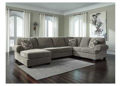 Jinllingsly Gray Right Facing Sofa Sectional