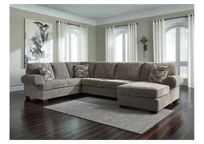 Jinllingsly Gray Left Facing Sofa Sectional