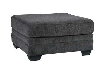 Image for Tracling Slate Oversized Accent Ottoman