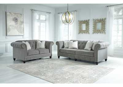 Tiarella Ash Sofa and Loveseat