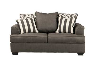 Levon Charcoal Loveseat